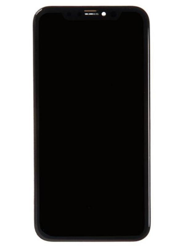Дисплей RocknParts для APPLE iPhone XR TFT AAA Black 697573
