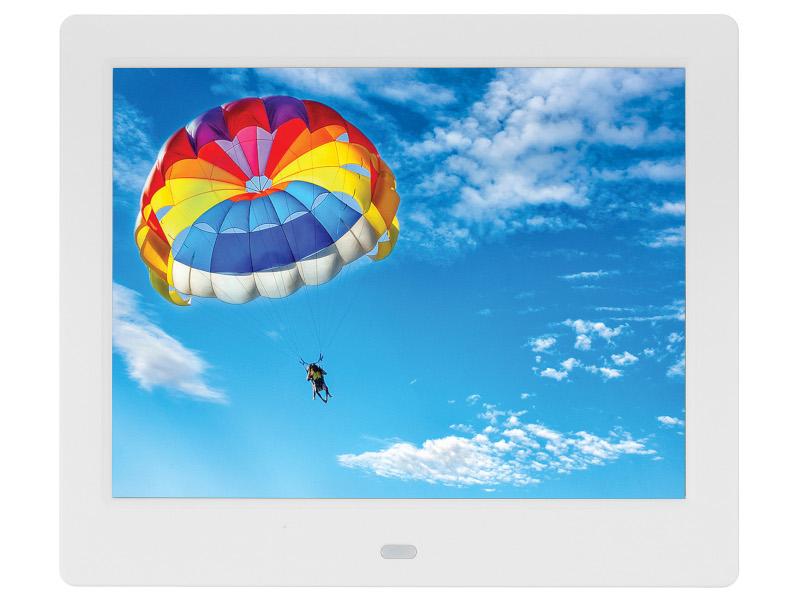 Цифровая фоторамка Digma PF-843 White 1169212