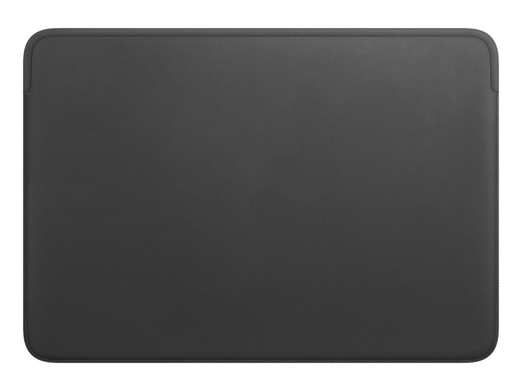 Аксессуар Чехол APPLE Leather Sleeve для MacBook Pro 16-inch Black MWVA2ZM/A стоимость