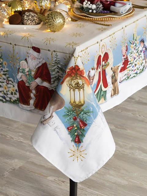 Скатерть Этель Christmas Time 150х110cm 4496666