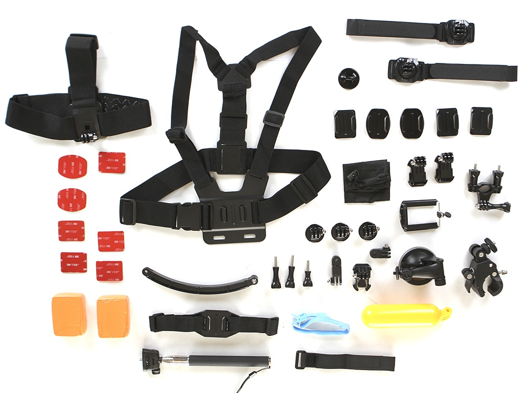 Фото - Аксессуар Набор крепежей и аксессуаров Lumiix GP495 для GoPro 8/1 аксессуар для упаковки букетик полоска