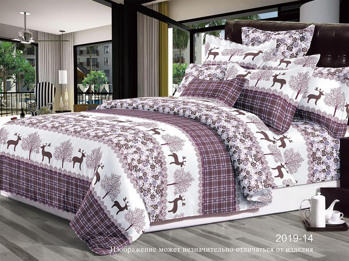 Постельное белье Luxor Комплект 1.5 спальный Сатин 2019-14 3708463