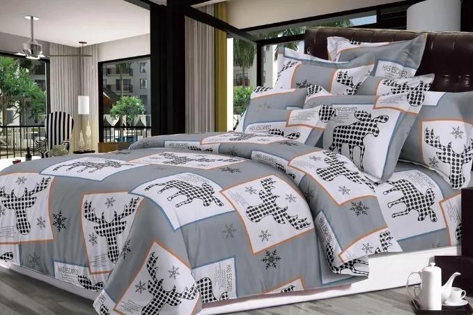 Постельное белье Luxor Комплект 1.5 спальный Сатин 2019-15 3708466