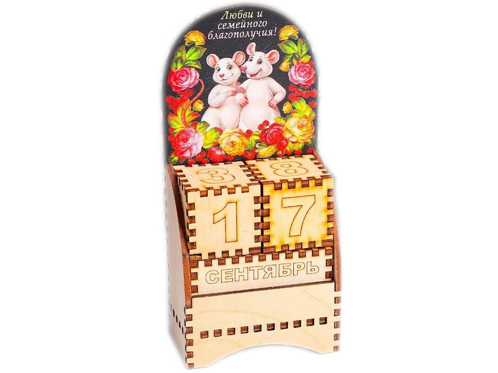 СИМА-ЛЕНД Мышки в пионах Любви и семейного благополучия! 5x7x13.5cm 4425295