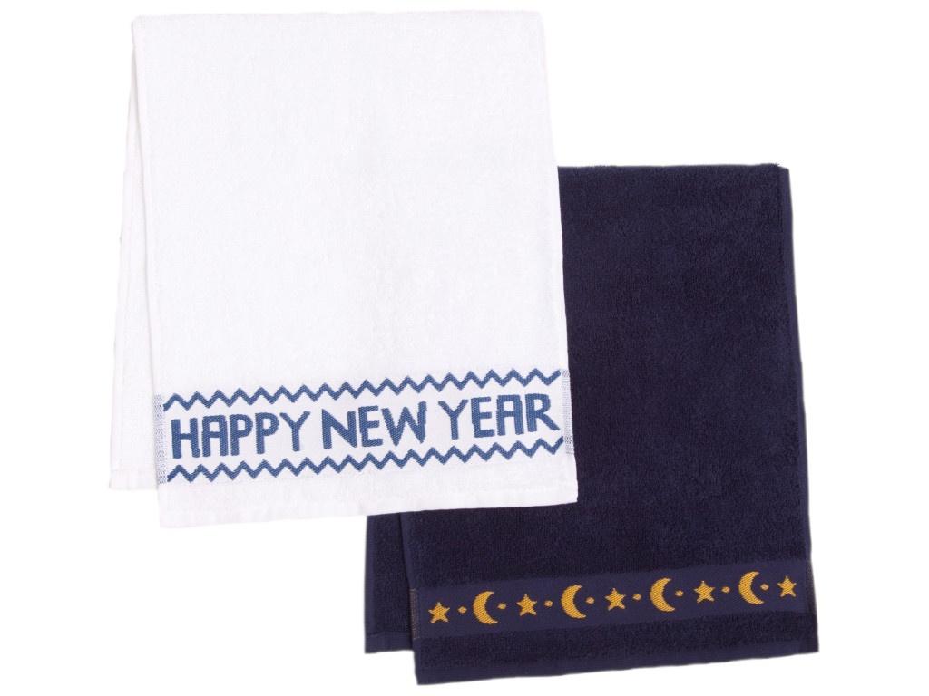 Набор Этель Новый год на носу - полотенце 30х70cm 2шт 4382844