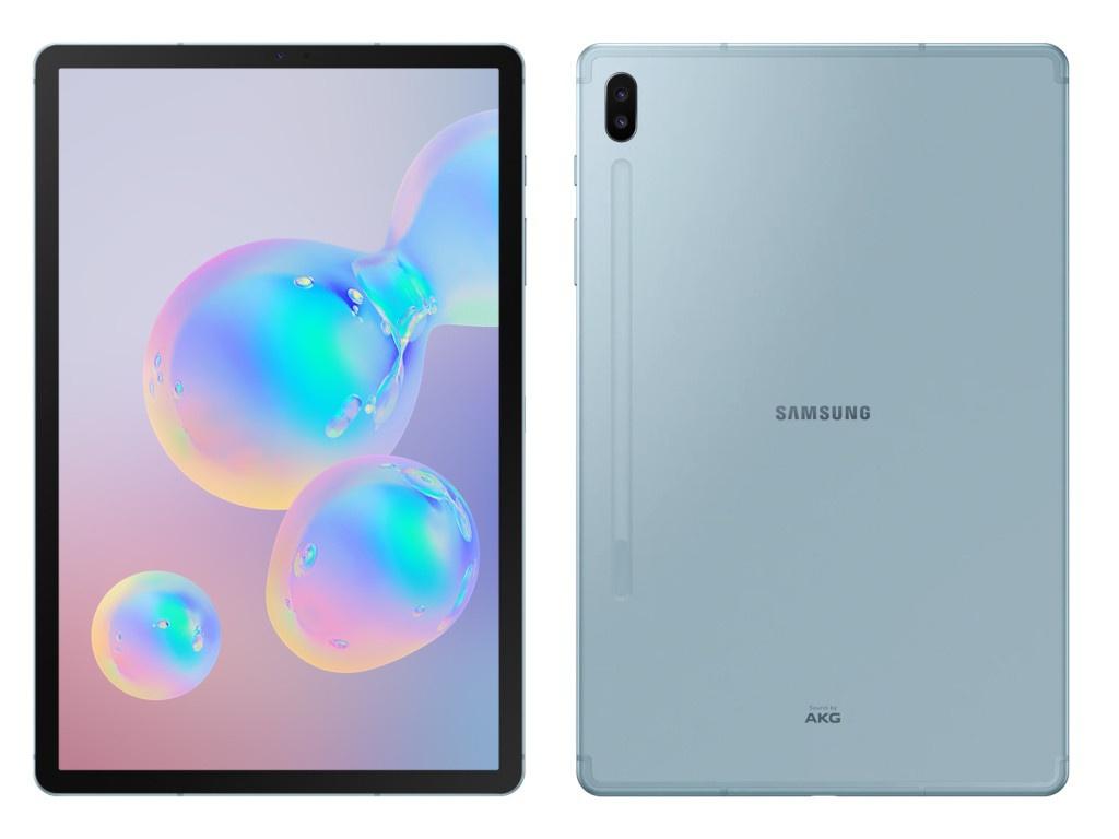 Планшет Samsung Galaxy Tab S6 10.5 SM-T860 - 128Gb Light Blue SM-T860NZBASER Выгодный набор + серт. 200Р!!!