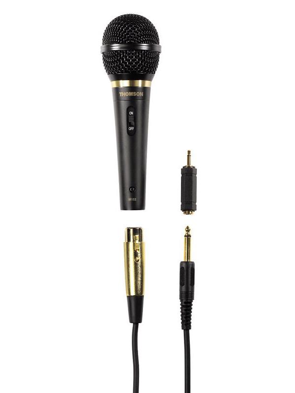 Фото - Микрофон Thomson M152 Black бандаж послеродовый фэст 1248 размер 108 черный
