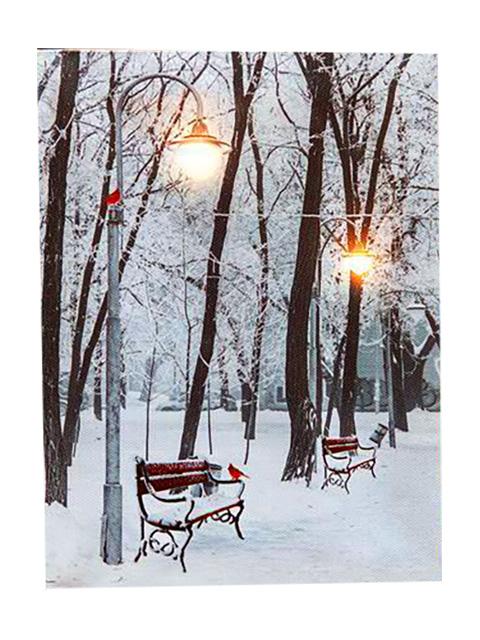 Светящееся украшение Peha Magic Настенное панно Кардиналы в старом парке AP-10790