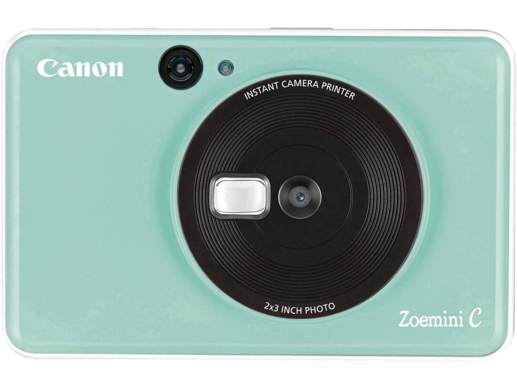 Фото - Фотоаппарат Canon Zoemini C Mint Green 3884C007 карманный принтер canon zoemini pv123 whs exp белый