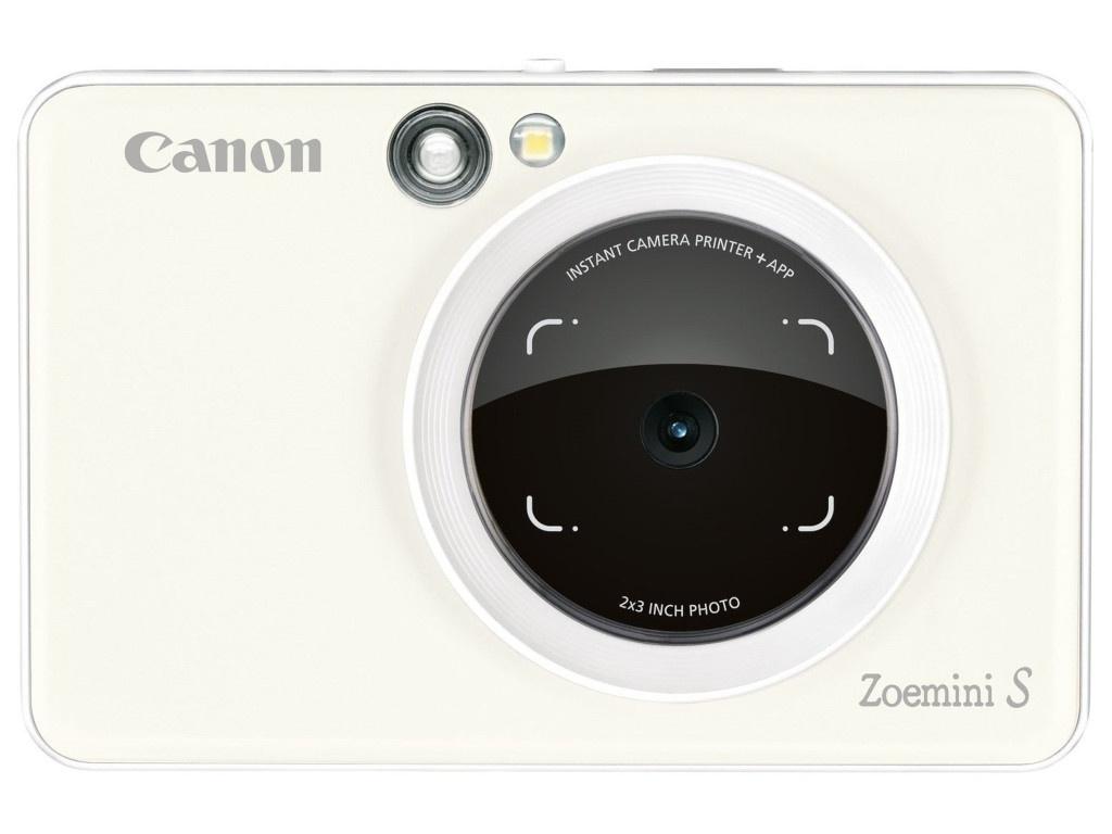 Фотоаппарат Canon Zoemini S Pearl White 3879C006