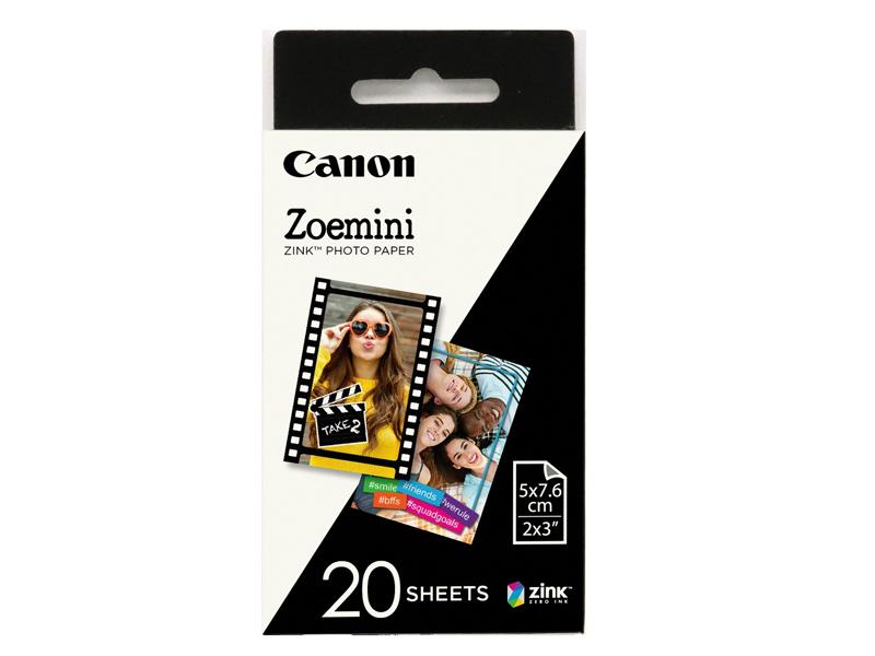 Фотобумага Canon Zink Paper ZP-2030 20 листов 3214C002