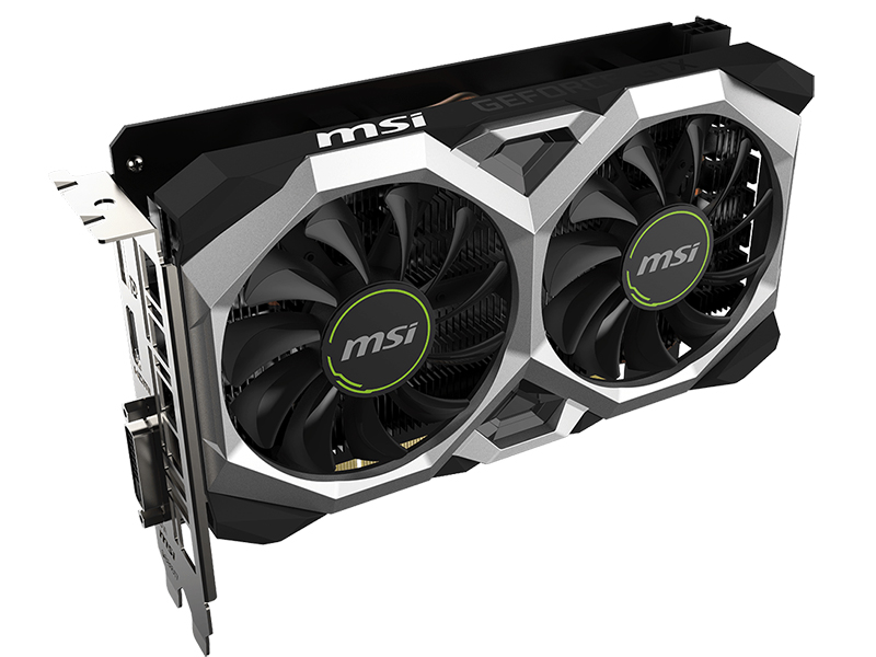 Видеокарта MSI GeForce GTX 1650 Super Ventus XS 1740Mhz PCI-E 3.0 4096Mb 12000Mhz 128 bit HDMI DVI-D HDCP SUPER VENTUS OC