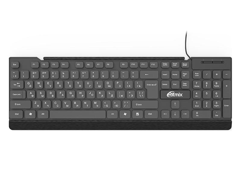 Клавиатура Ritmix RKB-107 Black клавиатура ritmix rkb 500 antagonist