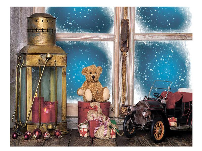 Светящееся украшение SnowHouse Панно Уютный вечер JH1610-006