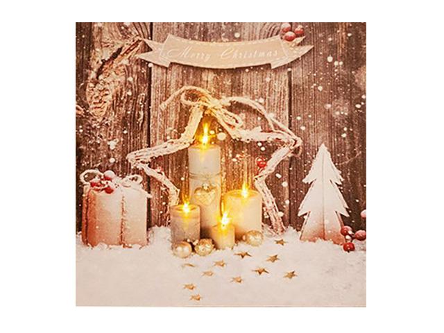 Светящееся украшение Koopman International Панно Рождественский этюд ANB000170-2
