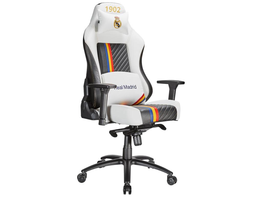 Компьютерное кресло Tesoro Real Madrid MB730-RM White