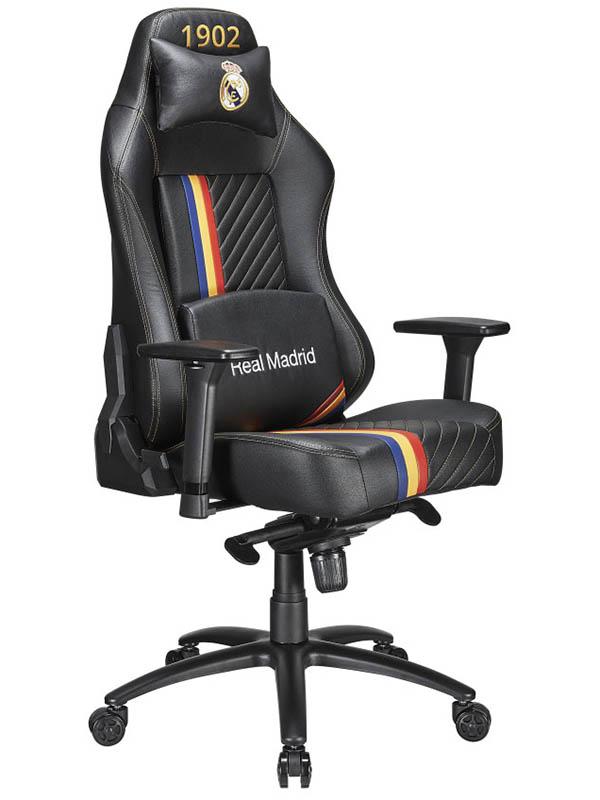 Компьютерное кресло Tesoro Real Madrid MB730-RM Black