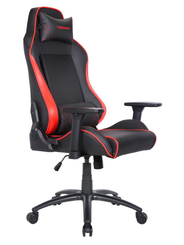 Компьютерное кресло Tesoro Alphaeon S1 TS-F715 Black-Red