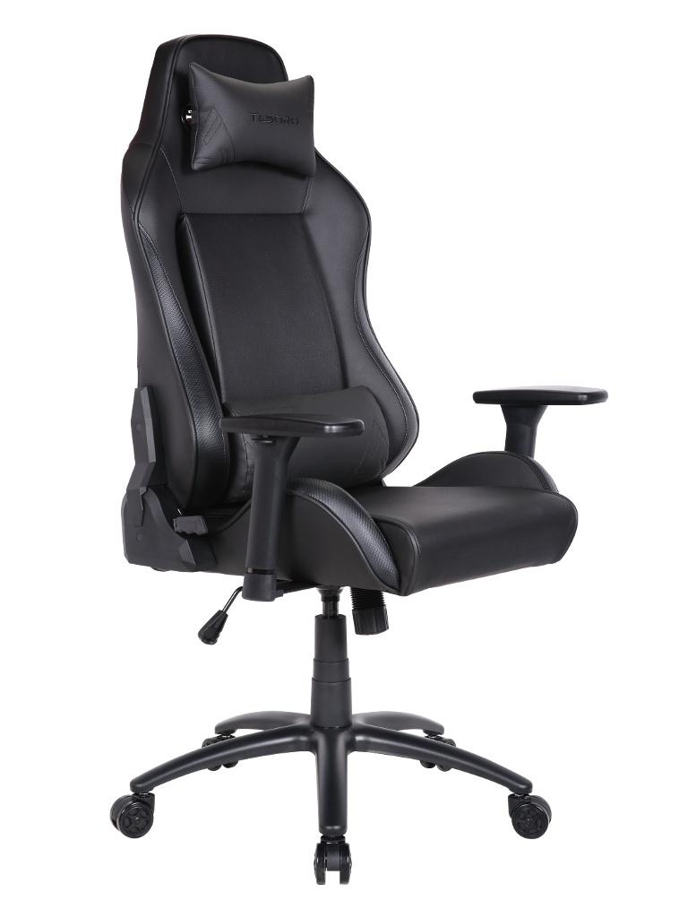 Компьютерное кресло Tesoro Alphaeon S1 TS-F715 Black-Carbon