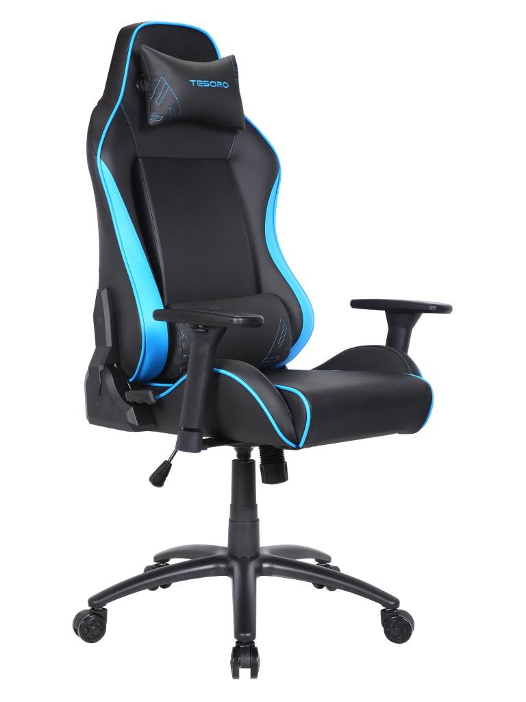 Компьютерное кресло Tesoro Alphaeon S1 TS-F715 Black-Blue