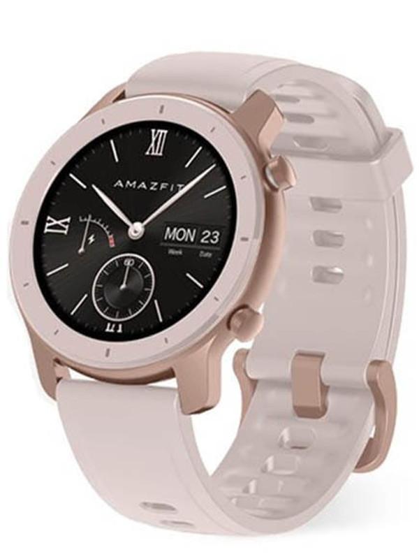 Умные часы Xiaomi Amazfit GTR 42mm Cherry Blossom Pink Выгодный набор + серт. 200Р!!! умные часы xiaomi huami amazfit gts a1914 rose pink выгодный набор серт 200р