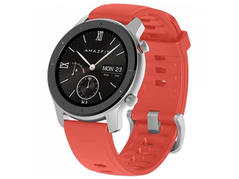 Умные часы Xiaomi Amazfit GTR 42mm Coral Red Выгодный набор + серт. 200Р!!!