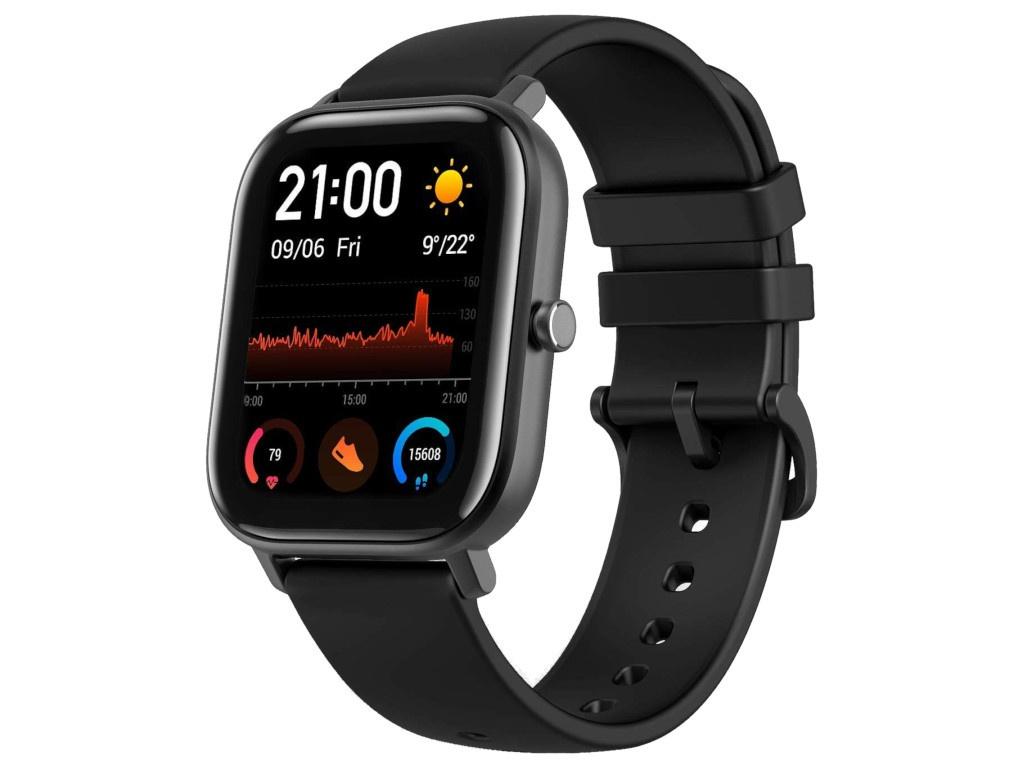 Умные часы Xiaomi Amazfit GTS Global Obsidian Black Выгодный набор + серт. 200Р!!!