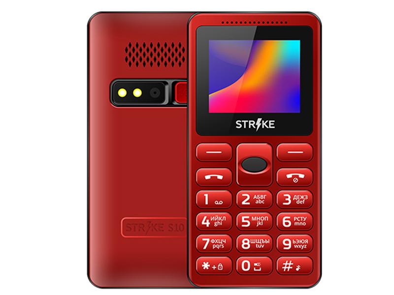 Сотовый телефон Strike S10 Red