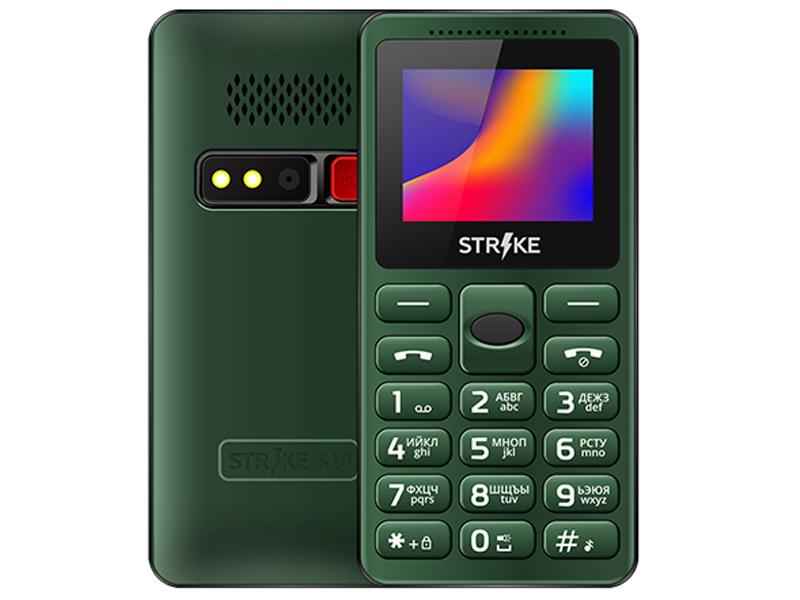 Сотовый телефон Strike S10 Green