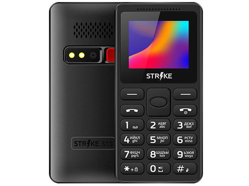 Сотовый телефон Strike S10 Black