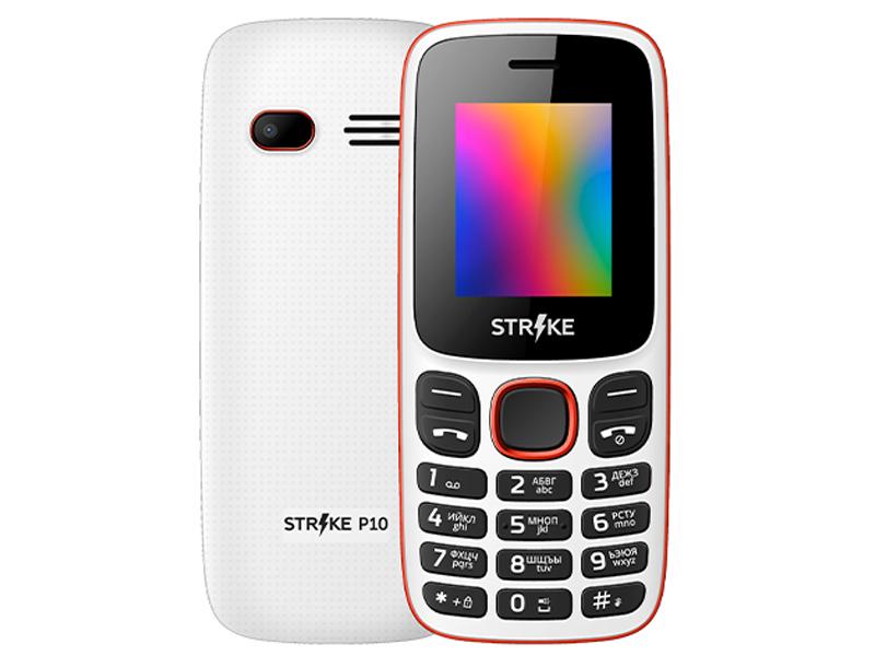 Сотовый телефон Strike P10 White