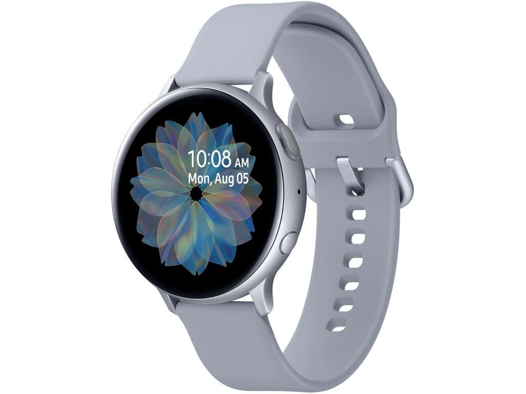 Умные часы Samsung Galaxy Watch Active2 44mm Aluminum-White SM-R820NZSASER Выгодный набор + серт. 200Р!!!