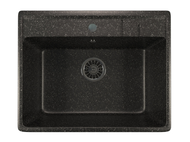 Кухонная мойка Mixline ML-GM15 Black 525102