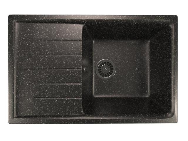Кухонная мойка Mixline ML-GM19 Black 525150