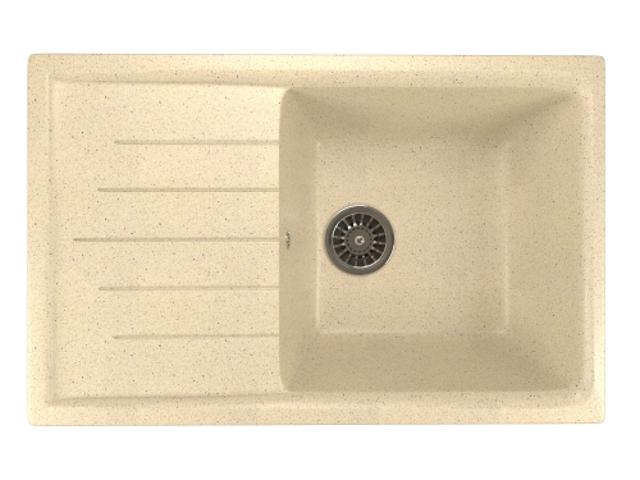 Кухонная мойка Mixline ML-GM19 Beige 525155