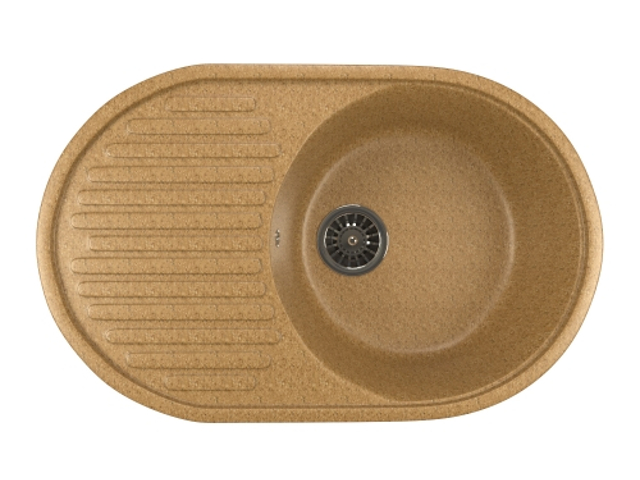 Кухонная мойка Mixline ML-GM16 Sand 525108