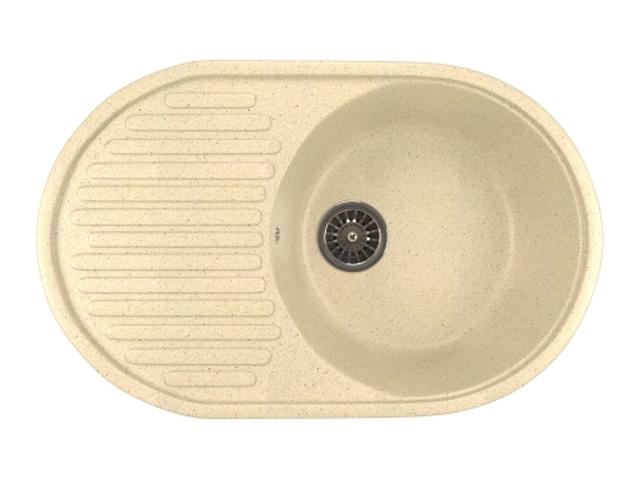 Кухонная мойка Mixline ML-GM16 Beige 525114