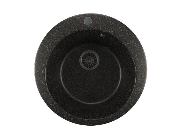 Кухонная мойка Mixline ML-GM13 Black 525086