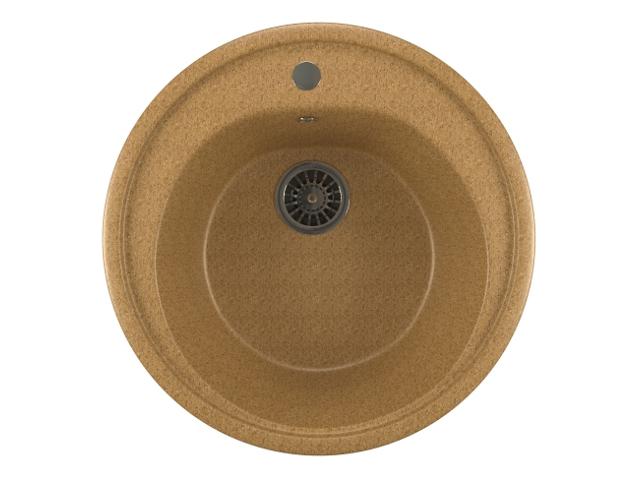 Кухонная мойка Mixline ML-GM11 Sand 525068