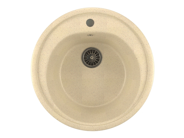 Кухонная мойка Mixline ML-GM11 Beige 525074