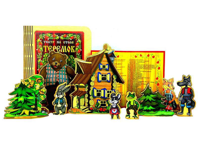 Театр на столе Нескучные игры Теремок 7735/24 обучающая игра нескучные игры сказки на магнитах теремок к 0543 8