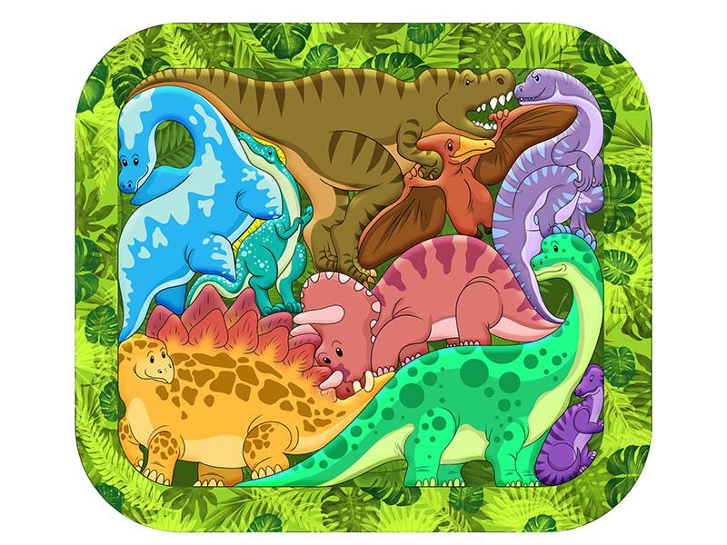 Пазл Нескучные игры Динозавры 8076/30