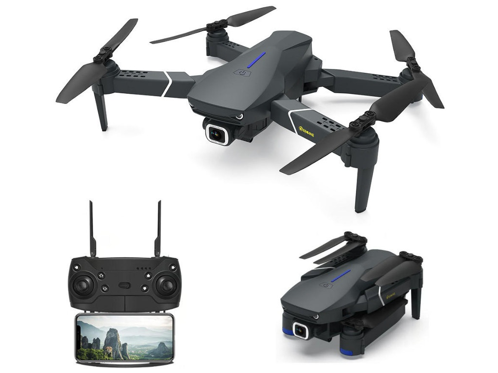 Квадрокоптер Eachine E520 Wi-Fi FPV с видеокамерой 4K HD EACH-C78372
