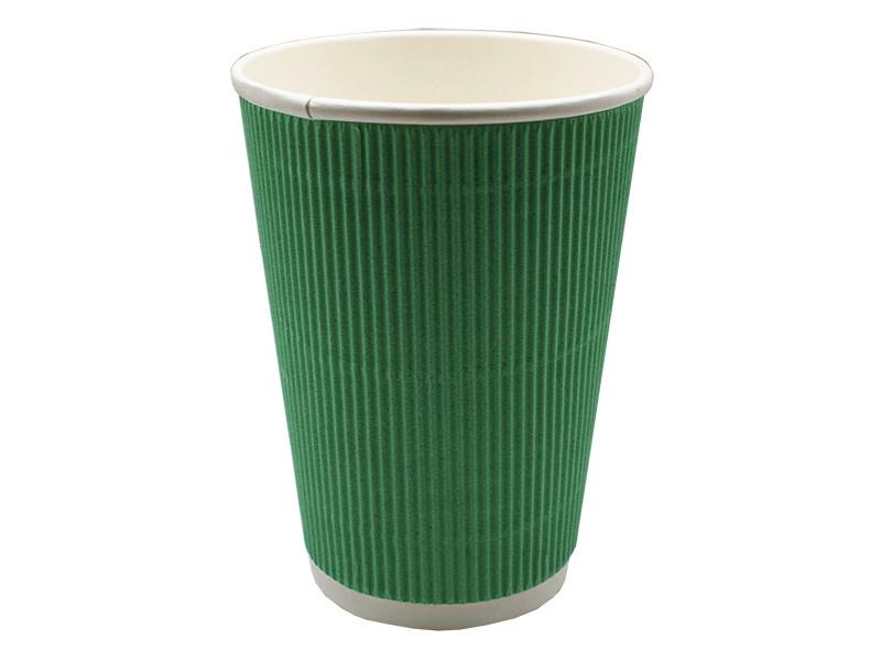 Одноразовые стаканы Ecovilka 400ml 20шт Green БСГ3400