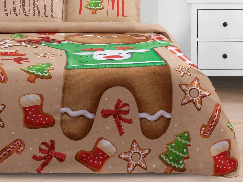 Постельное белье Этель Cookie Time Комплект 1.5 спальный Бязь 4562110