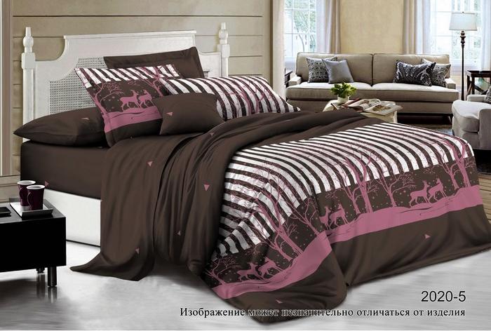 Постельное белье Бояртекс Комплект 1.5 спальный 2020-5 Акварель-поплин 4450936