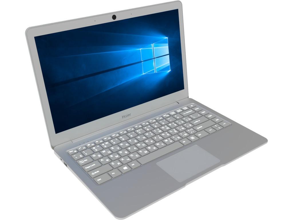 Ноутбук Haier i424 Silver (Intel Pentium N4200 1.1 GHz/4096Mb/180Gb SSD/Intel HD Graphics/Wi-Fi/Cam/13.3/1920x1080/Windows 10 64-bit)