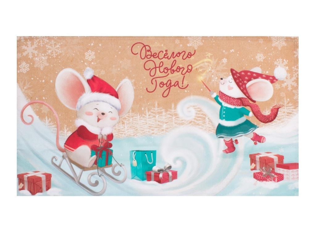 Полотенце Этель Веселого нового года 40x70cm 4389589