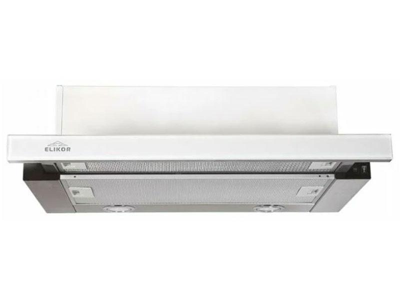 Кухонная вытяжка ELIKOR Интегра 60 нержавейка / белое стекло
