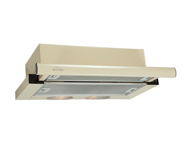 Кухонная вытяжка Elikor Интегра 50 50П-400-В2Л Cream-Cream